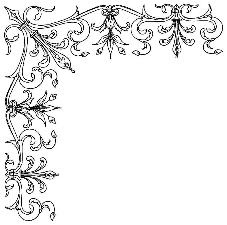 Dibujos para colorear de decoracion plantillas para - Plantillas de decoracion ...