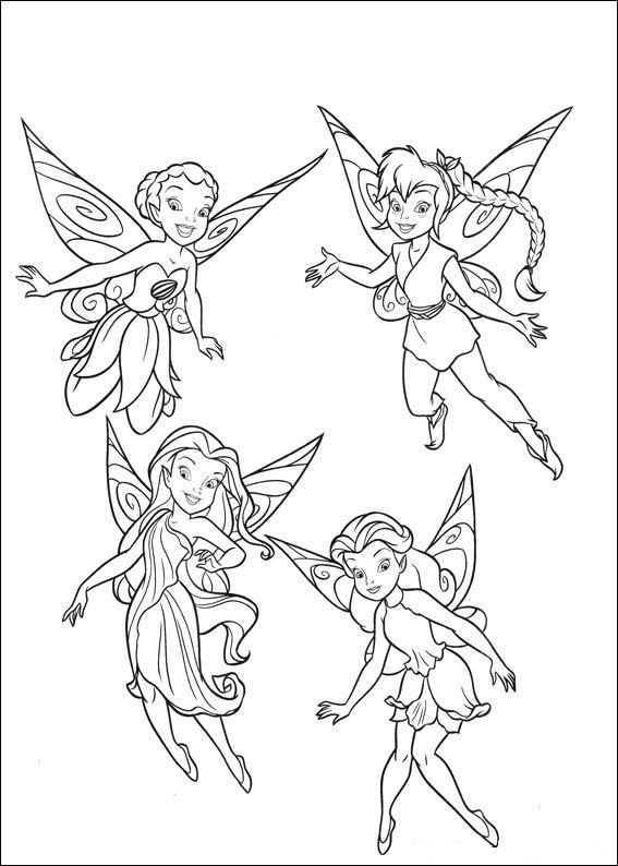 Ahiva Pequenautas Plantillas Para Colorear Disney Campanilla