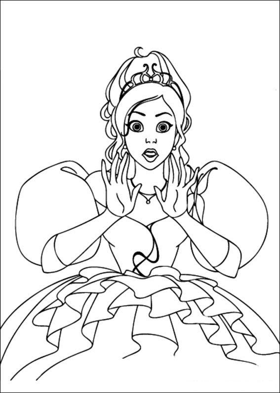 Dibujos Para Colorear De Encantada La Historia De Giselle