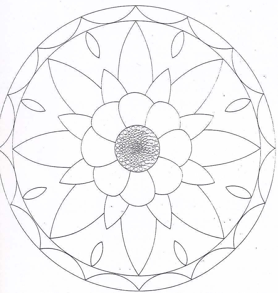Dibujos De Mandalas Para Imprimir