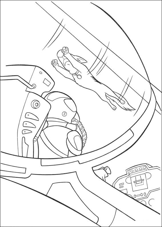 Dibujos para colorear de Bolt, Plantillas para colorear de Bolt