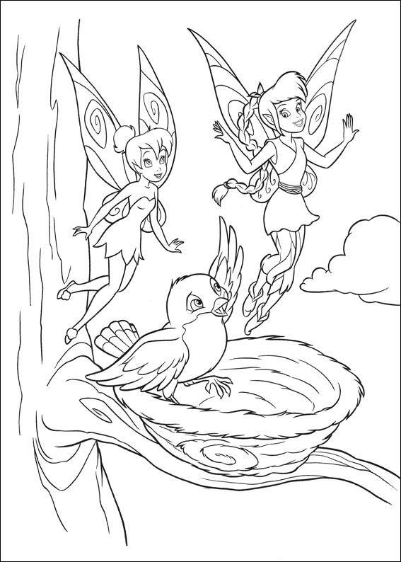 Moderno Dibujos Para Colorear Disney Tinkerbell Galería - Ideas Para ...